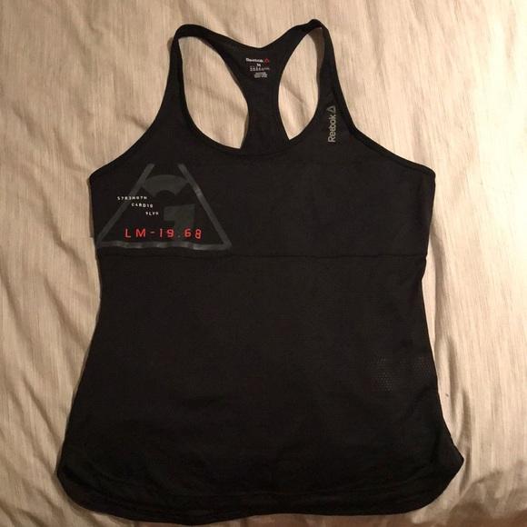 d29ff2c1971434 Women's Reebok Les Mills racer back tank. M_5a5449f39a94550f96040b15